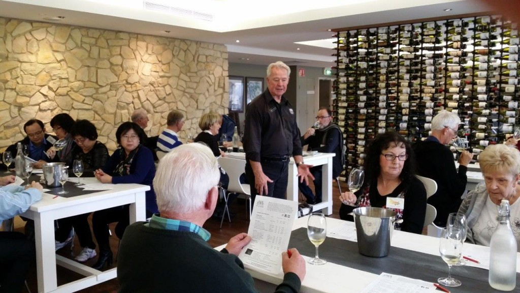 A7 Hunter Valley Weekend Tour - Seated tasting at Tulloch Wines